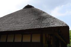 Vecchia casa piega tradizionale giapponese fotografia stock libera da diritti