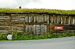 Vecchia casa in Røros Fotografia Stock
