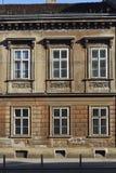 Vecchia casa residenziale di Zagabria Fotografie Stock