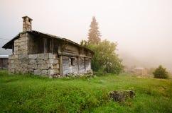 Vecchia casa in Rize Fotografia Stock Libera da Diritti