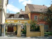 Vecchia casa romantica Immagine Stock