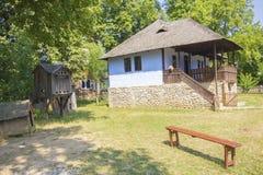 Vecchia casa rumena tradizionale Immagine Stock Libera da Diritti