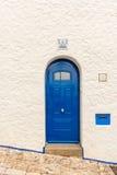 Vecchia casa in Sitges Spagna Fotografia Stock