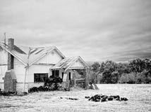 Vecchia casa sola Immagini Stock Libere da Diritti