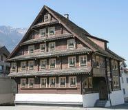 Vecchia casa svizzera 17 Fotografia Stock
