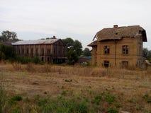 Vecchia casa terrificante Fotografia Stock Libera da Diritti