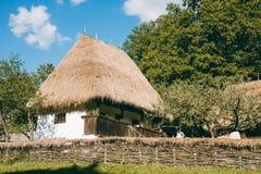 Vecchia casa tradizionale fotografia stock