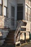 Vecchia casa trascurata fotografia stock libera da diritti