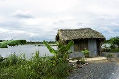Vecchia casa, Vietnam Immagini Stock