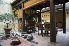 Vecchia casa vietnamita Hanoi, Vietnam Immagine Stock Libera da Diritti