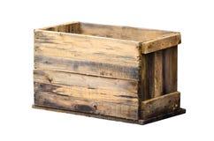 Vecchia casella di legno immagine stock libera da diritti
