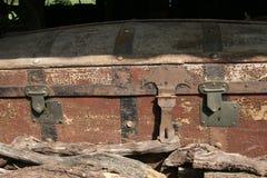 Vecchia cassa Fotografia Stock