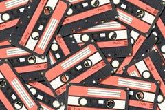 Vecchia cassetta di cassetta audio Fotografie Stock