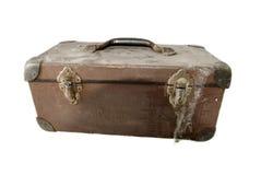 Vecchia cassetta portautensili isolata Fotografia Stock