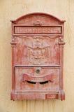 Vecchia cassetta postale fotografia stock