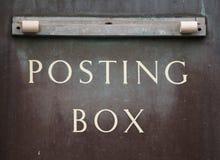 Vecchia cassetta postale   Fotografie Stock Libere da Diritti