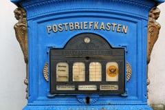 Vecchia cassetta postale tedesca Fotografie Stock Libere da Diritti
