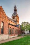 Vecchia cattedrale di Riga Immagine Stock