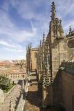 Vecchia cattedrale di Salamanca, Spagna Fotografia Stock