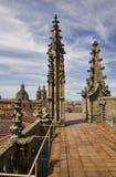 Vecchia cattedrale di Salamanca, Spagna Immagini Stock Libere da Diritti