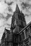 Vecchia cattedrale gotica Fotografia Stock