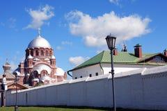 Vecchia cattedrale ortodossa russa Fotografia Stock Libera da Diritti