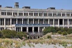 Vecchia centrale elettrica abbandonata in Fremantle, Australia occidentale Fotografie Stock Libere da Diritti