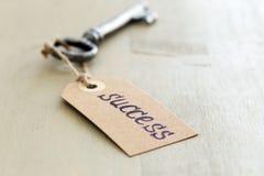Vecchia, chiave decorata Fotografie Stock
