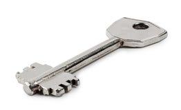Vecchia chiave del metallo Fotografia Stock Libera da Diritti