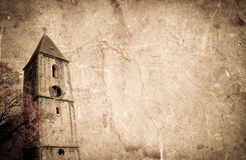 Vecchia chiesa Immagini Stock