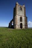 Vecchia chiesa abbandonata Fotografia Stock Libera da Diritti