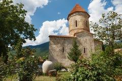 Vecchia chiesa albanese in Kish Azerbaijan Fotografie Stock Libere da Diritti