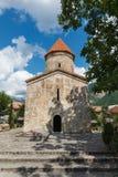 Vecchia chiesa albanese in Kish Azerbaijan Fotografia Stock Libera da Diritti