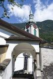 Vecchia chiesa a Altdorf nel Cantone di Uri Immagini Stock