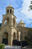 Vecchia chiesa armena nella città di Bacu immagini stock