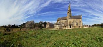 Vecchia chiesa in Brittaney Immagine Stock Libera da Diritti