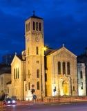 Vecchia chiesa cattolica Fotografie Stock Libere da Diritti