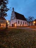 Vecchia chiesa cattolica Fotografia Stock Libera da Diritti
