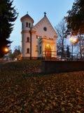 Vecchia chiesa cattolica Fotografia Stock