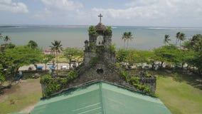 Vecchia chiesa cattolica Barcellona, Sorsogon, Filippine fotografie stock