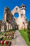Vecchia chiesa cistercian in Carta, Romania Fotografia Stock Libera da Diritti
