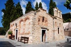 Vecchia chiesa in Crete Immagine Stock Libera da Diritti