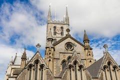 Vecchia chiesa cristiana Immagine Stock Libera da Diritti