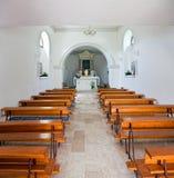 Vecchia chiesa croata Fotografia Stock