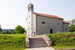 Vecchia chiesa croata Fotografia Stock Libera da Diritti