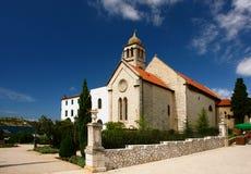 Vecchia chiesa, Croatia, Sibenik Immagini Stock