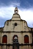 Vecchia chiesa da Kochi Fotografia Stock
