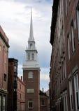 Vecchia chiesa del nord immagini stock