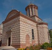 Vecchia chiesa della corte di Bucarest, Romania Immagini Stock Libere da Diritti