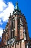 Vecchia chiesa di Gertrude Immagini Stock